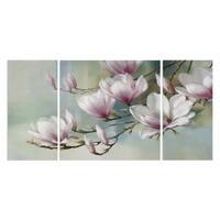 'Magnolia Morning' Canvas Premium Multi-piece Art