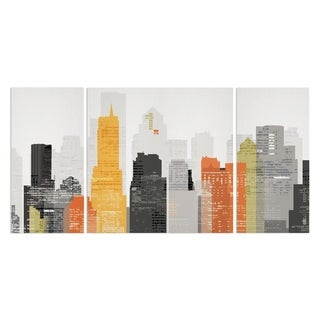 'Element City' Canvas Wall Art