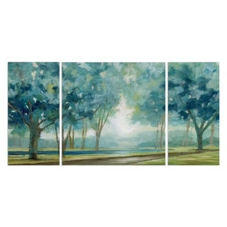 Wexford Home 'Ombre Afternoon' Canvas Wall Art (Set of 3)