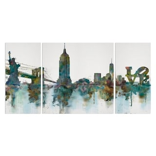 Wexford Home 'NY Skyline' Premium Multi-piece Art