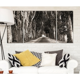 Wexford Home 'Stately Road' Canvas Premium Multi Piece Art