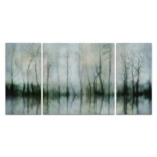 Wexford Home 'Mirrored Pond' Premium Canvas Multi-piece Giclee Wall Art
