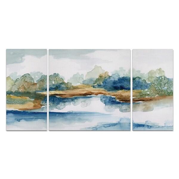 Blue Serenity' Premium Multi-piece Art