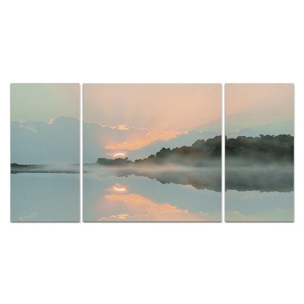 Wexford Home 'Sunset Cove' Canvas Premium Multi Piece Art