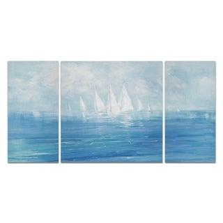 Wexford Home 'Set Sail' Premium Canvas Multi-piece Giclee Wall Art
