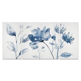 Wexford Home 'Translucent Blues II' Canvas Premium Multi Piece Art
