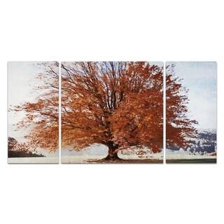 Wexford Home 'Season of Fall' Premium Giclee Canvas Print Multi-piece Art Set