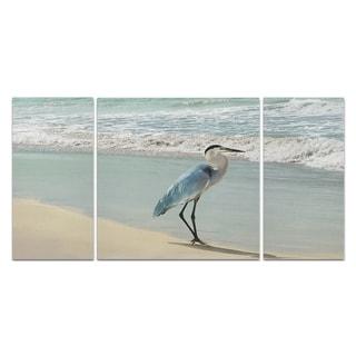Beach Set Heron-A Premium Multi Piece Art available in 3 sizes