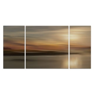Wexford Home 'Mystic Lake' Premium 3-piece Art Set