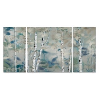 Wexford Home 'Zen Forest I' Premium Canvas Multi-piece Hand-wrapped Giclee Wall Art