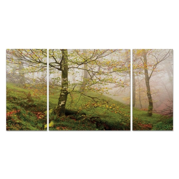 Wexford Home 'Spring or Fall' 3-piece Wall Art Set
