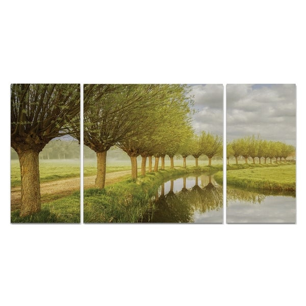 Wexford Home 'Holland' Canvas Wall Art (Set of 3)