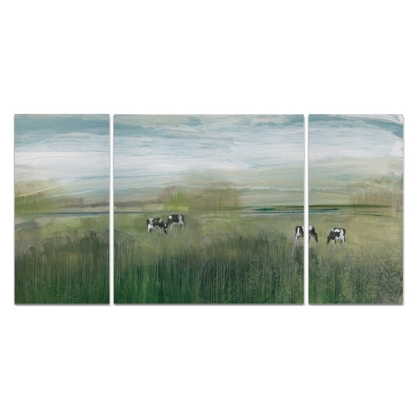 Wexford Home 'Grazing In Shandelee' 3-piece Wall Art