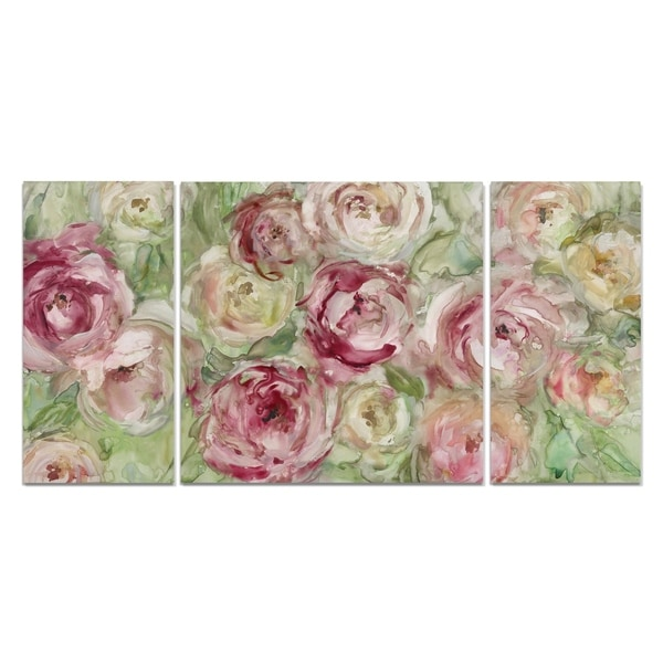 'Climbing Rose' Canvas Wall Art