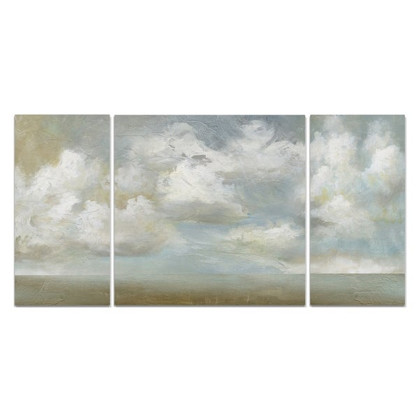 Wexford Home 'Cloudscape Vista III' A Premium Multi Piece Art