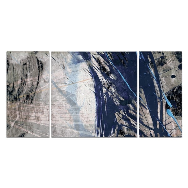 Blue Noise II' A Premium Multi-piece Canvas Wall Art