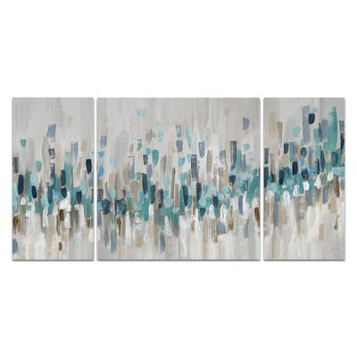 Blue Staccato-A Premium Multi Piece Art available in 3 sizes