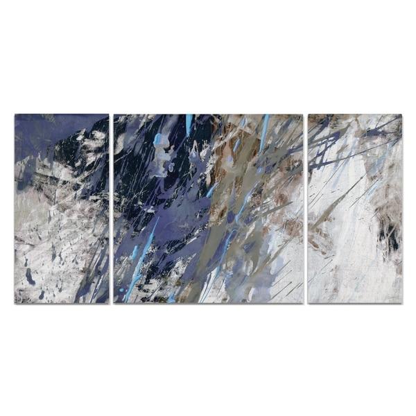 Wexford Home 'Blue Noise I-A' Premium Art Set (3 Piece)