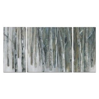 'Banff Birch Grove' Canvas Wall Art