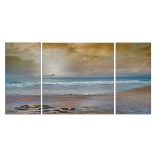 Wexford Home 'Private Island-A' Premium Multipiece Art (Set of 3)