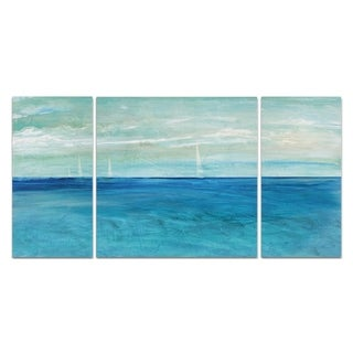 Wexford Home 'St. Maarten' Premium Canvas Multi-piece Hand-wrapped Giclee Wall Art