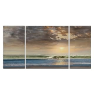 Wexford Home 'Through the Clouds' 3-piece Wall Art
