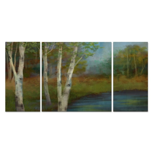 'Beside The Still Waters' Canvas Wall Art