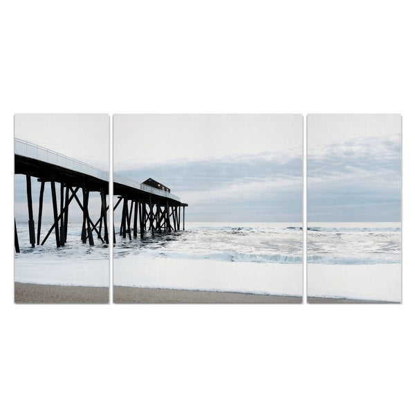 Wexford Home 'Belmar Pier I' Premium Multi Piece Gallery-wrapped Canvas Art Print