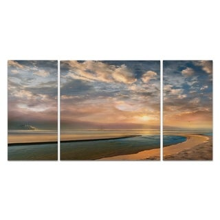 Wexford Home 'Changing Tides' Canvas Premium Multi Piece Art