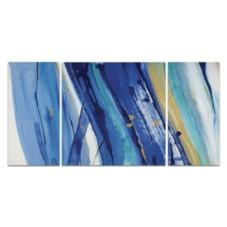 Wexford Home 'Waterfall II' Canvas Premium Multi Piece Art