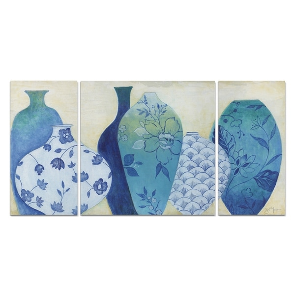 Wexford Home 'Chinoiserie Home' Premium 3-piece Art Set