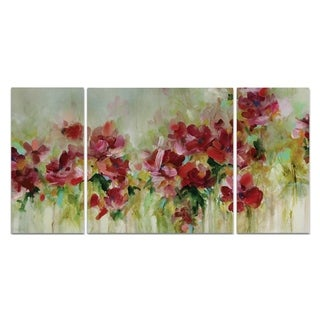Wexford Home 'Playful Garden' 3-piece Wall Art Set