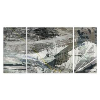 Wexford Home 'White Noise I' Canvas Premium Multi Piece Art