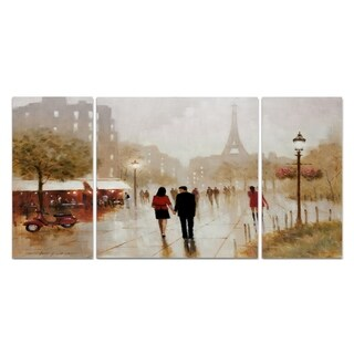 Wexford Home 'Romantic Stroll' Premium Multi Piece Gallery-wrapped Canvas Art Print