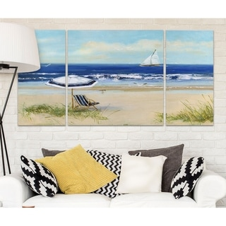 'Beach Life I' Canvas Wall Art