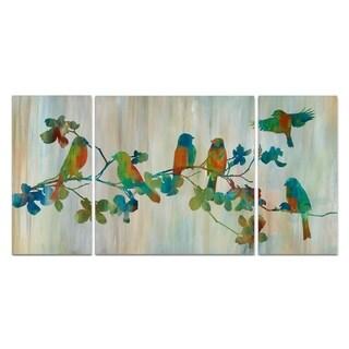 Wexford Home 'Birds on Branch' Premium Multi-piece Art
