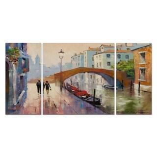 'Venice Twilight' Canvas Premium Multipiece Art