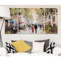 Wexford Home 'Paris Teal III' Premium Multi-Piece Art