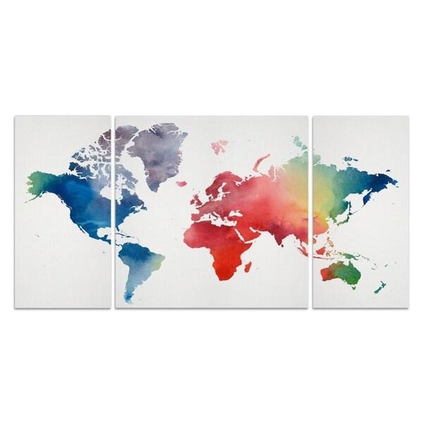 Wexford Home 'Rainbow World' Premium Multi-piece Art