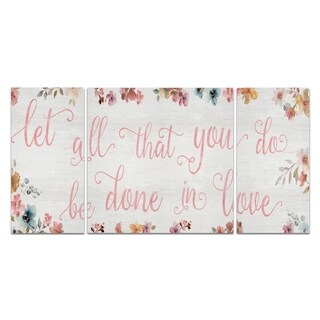 'Done In Love' Premium Multi-piece Art