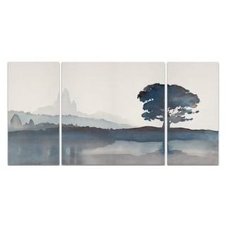 Wexford Home 'Serene Silhouette II' Canvas Wall Art (Set of 3)