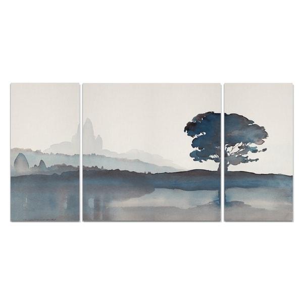 Wexford Home 'Serene Silhouette II' Canvas Wall Art (Set of 3)