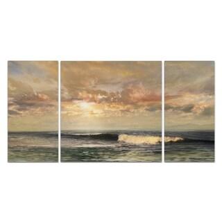 Wexford Home 'Serenity Beach' 3-piece Wall Art Set
