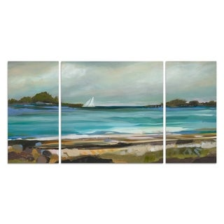 Wexford Home 'Seaside View I' 3-piece Wall Art Set