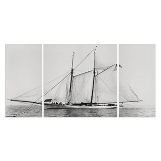 Wexford Home 'Sailing Yacht III' Premium Multi Piece Gallery-wrapped Canvas Art Print