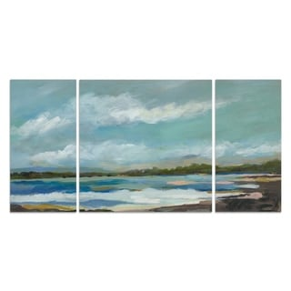 Wexford Home 'Seaside View IV' Premium Canvas Multi-piece Hand-wrapped Giclee Wall Art