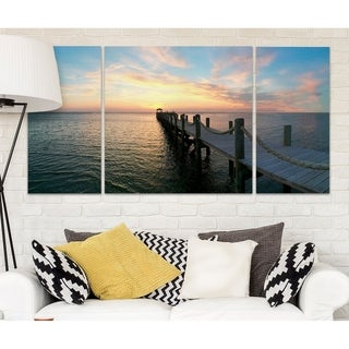 Wexford Home 'Dockside' Premium Multi-piece Canvas Art Print