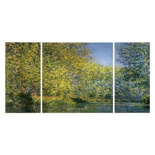 Wexford Home 'Bend in the River' Premium Canvas Multi-piece Hand-wrapped Giclee Wall Art