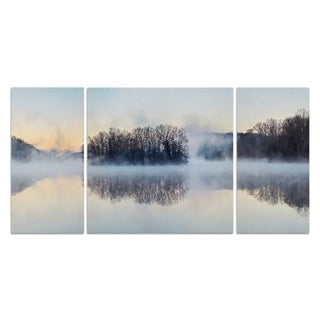 Wexford Home 'Scene on the Water VIII' Premium Canvas Multi-piece Hand-wrapped Giclee Wall Art
