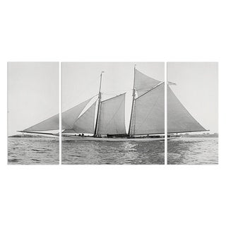 Wexford Home 'Sailing Yacht VII' Premium Multi Piece Gallery-wrapped Art Print